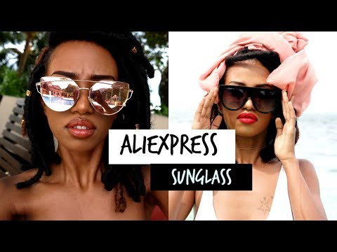 52cc8c837673d Sunglass Haul! 2016   review + try on    AliExpress  under 7