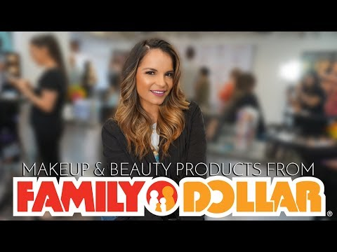 MAKEUP & BEAUTY PRODUCTS FROM FAMILY DOLLAR