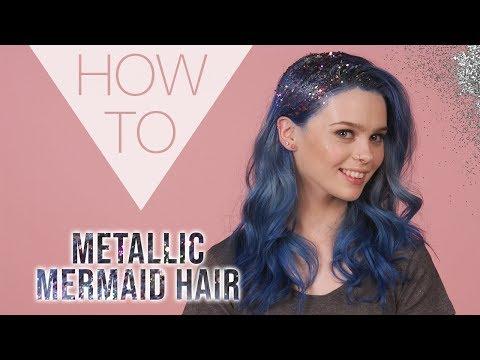 HOW TO | Metallic Mermaid Hair | Festival Hair Styles | Superdrug