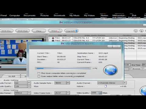 How To Rip Video From DVD's THE EASY WAY!