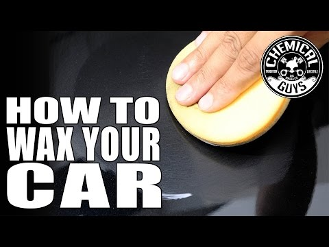 How To Wax Your Car - Chemical Guys Butter Wet Wax - Speed Wipe