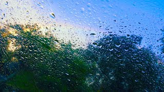 Download Rain Sounds on Car for Sleep or Focus | 10 Hours White Noise Video
