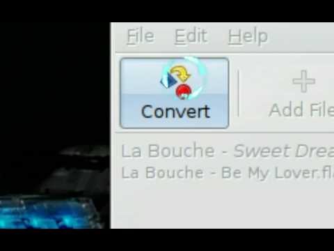 Convert to MP3 OGG FLAC - SoundConverter - Ubuntu Linux 8.04