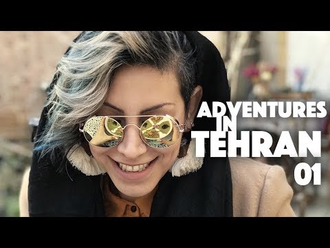 Adventures in Tehran Vlog #1 - Beautiful Cafes & Cool Streets
