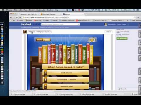 Putting Flash Games on Facebook (Method 1)