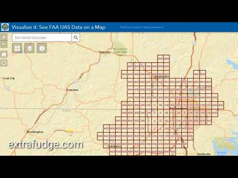 FAA Unmanned Aircraft Systems (Aka. Drones) Interactive Fly Map Restrictions