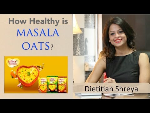 How Healthy is Masala Oats By Dietitian Shreya