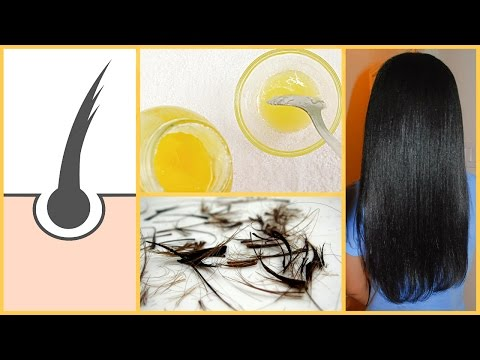 Home Remedy to Get Rid of Split Ends | Get Bouncy & Extra Shiny Hair