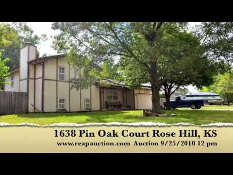 1638 N Pin Oak Ct Rose Hill Auction Sat Sept 25 2010 personal property sells at 10am