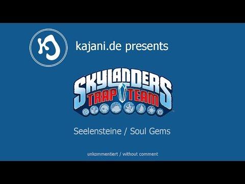 Skylanders Trap Team - ALLE Seelensteine / ALL Soul Gems