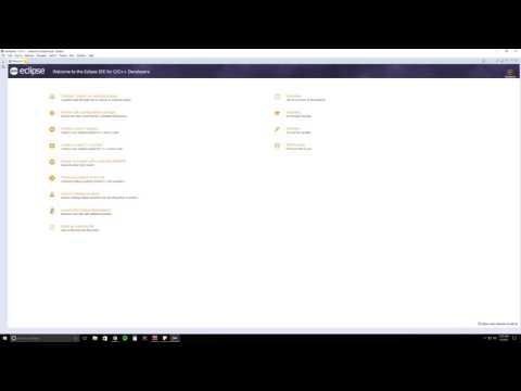 Easy C++ Programming Tutorial Absolute Beginner Using Eclipse| Episode 1
