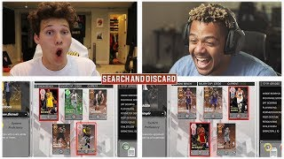 EPIC PINK DIAMOND SEARCH AND DISCARD  NBA 2K18