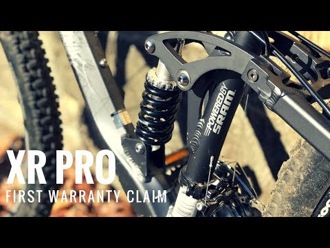 Mongoose XR PRO First Warranty Claim with Pacific Cycle