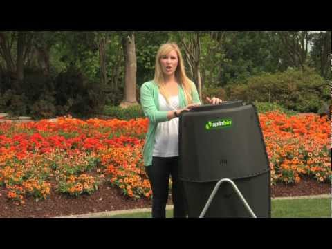Spin Bin Compost Tumbler Product Video
