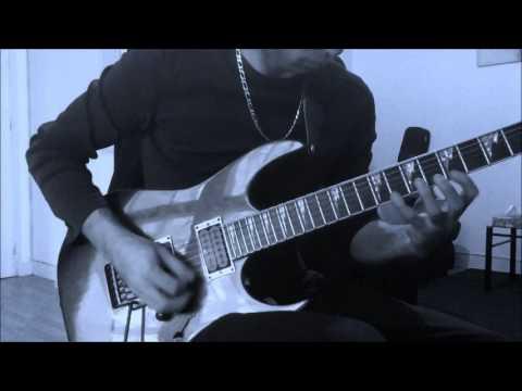 Born Of Osiris - Singularity - Ending guitar solo cover