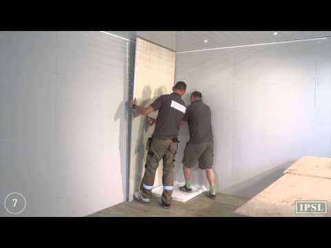 Shower Wall Panels - How to install Aquabord Laminate panels - by IPSL