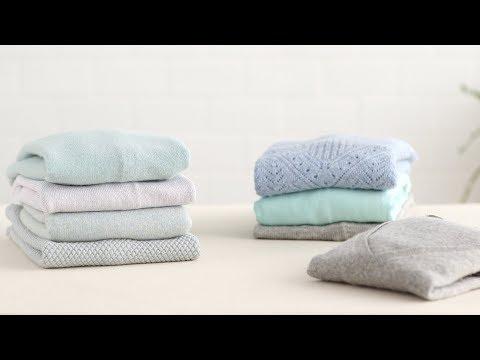 How to Fold a Sweater- Martha Stewart