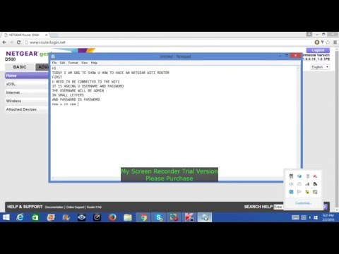 how to hack netgear wifi router