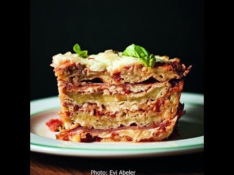 Eggplant Parmigiana, Pugliese Style - Rossella's Cooking with Nonna