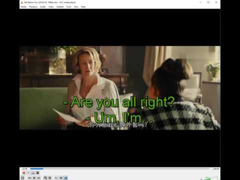 how to adjust subtitles in vlc 2.2.4 ( 2017)