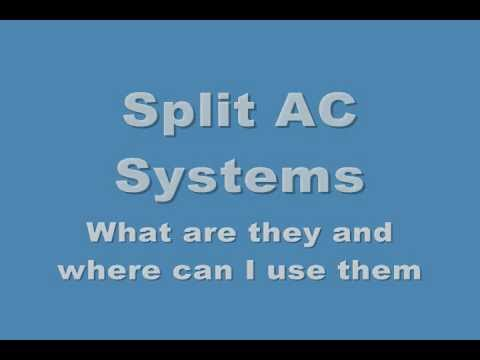 Split AC, Best info on Mini Split AC units