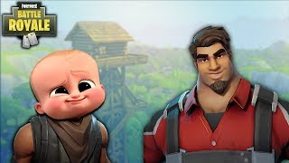 The MOST Adorable Kid on Fortnite Battle Royale! - Fortnite Battle Royale BR