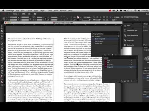 Creating a Book using Adobe InDesign CC2014