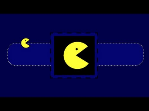 THE PAC MAN /Illustrator tuto/