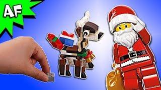 Lego Santa Brick Building a Christmas Reindeer