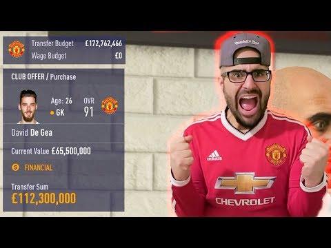 INSANE $120,000,000 DE GEA OFFER! - FIFA 18 Career Mode Manchester United #03