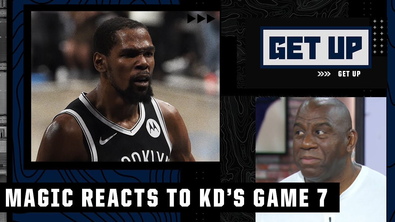 Magic Johnson calls Kevin Durant's Game 7 a 'Kobe Bryant, Michael Jordan-type performance'   Get Up