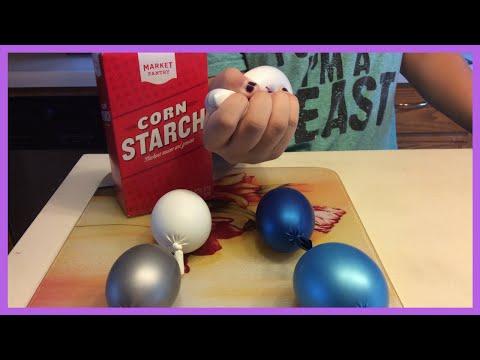 Oobleck Stress Ball DIY!