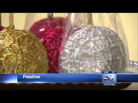 ABC News Frank Mathie - Morkes Chocolates Creates Ornament Caramel Apple