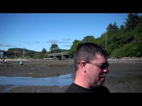 Oregon's Easist Clam to Dig