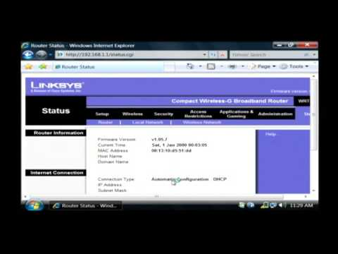 How to Change an IP Address Using Broadband & a Linksys Router