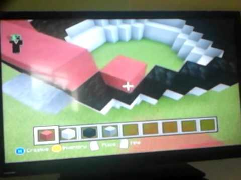How to build a pokeball) Minecraft tutorial