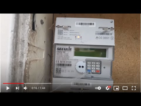 How to read Secure Liberty 100 Electricity Meter