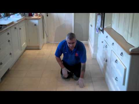 Travertine Tile & grout Floor Cleaning in Kettering 01536540060
