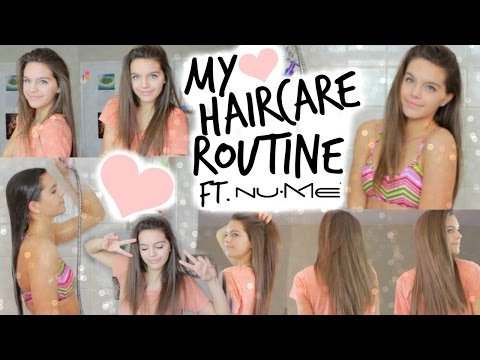 My Haircare Routine! + How To Get Soft & Silky Hair!