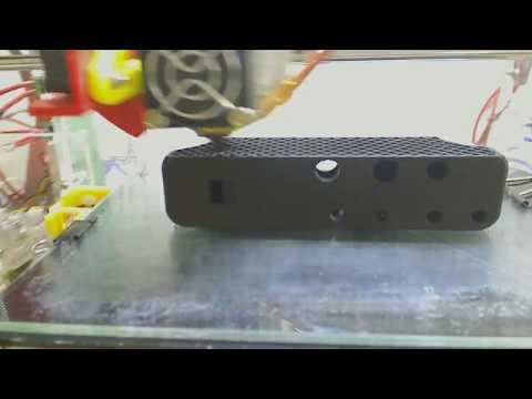 3D Printing a 9 Hole Ocarina Timelapse