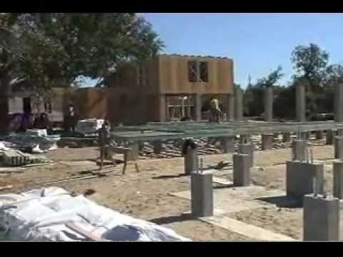 Raised Wood Floor: Foundation Design