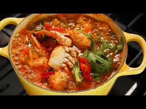 Korean crab stew (Kkotgetang: 꽃게탕)