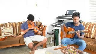 Kurutu gaa gee pothe instrumental cover-Violin and Guitar