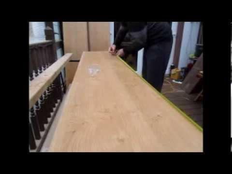 How I cut long Melamine or chipboard