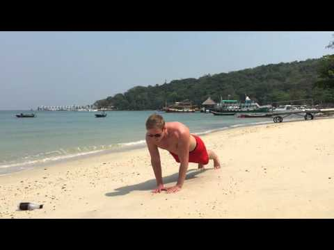 Diamond Push Ups For Upper Chest, Inner Chest, Triceps and Front Shoulders