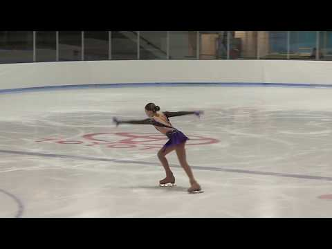 13 year old Samantha Liker 2018 Midwestern Sectionals Short Program