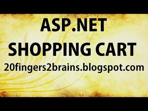Part 3 Asp.net c# Shopping cart Project Admin master page