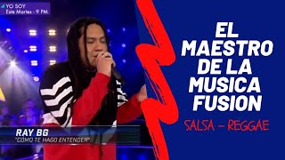Ray BG / Un Beso y una Flor / Como Te Hago Entender / los cuatro finalistas