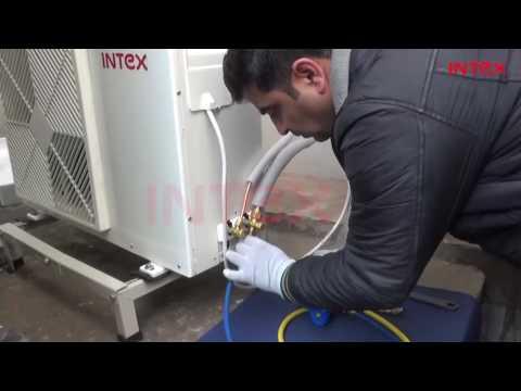 Vacuuming Process for Split AC  Hindi