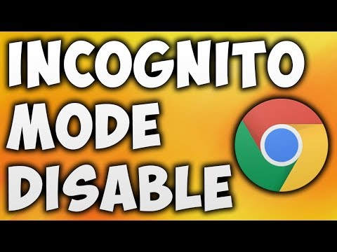 How To Disable Incognito Mode In Google Chrome - Turn Off Incognito Mode In Google Chrome
